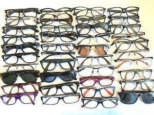 40 Pairs of Ray Ban Rx Eyeglasses Frames For Parts or Repair Wayfarer Aviator