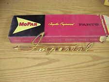 1960 Imperial NOS MoPar Grille EMBLEM NAMEPLATE Custom Crown LeBaron Southampton