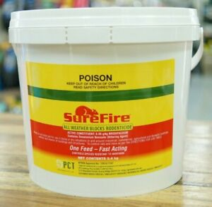 SureFire All Weather Mouse & Rat Poison Bait Blocks 2.4KG Brodifacoum