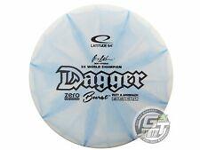 New Latitude 64 Zero Medium Burst Dagger 175g Blue Black Stamp Putter Golf Disc
