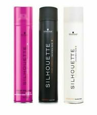 Schwarzkopf Silhouette Hairspray - BLACK, WHITE and PINK - 750ml/ 500ml/ 300ml