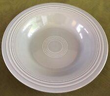 "Vintage Fiesta 8-1/4"" Rimmed Soup Bowl: 1950s Color GRAY"