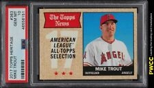 2017 Topps Heritage Mike Trout #363 PSA 10 GEM MINT (PWCC)