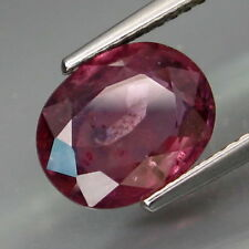 3.13 CT CERTIFIED NATURAL OVAL SAPPHIRE, COLOR CHANGE, PINK PURPLE - BROWN RED