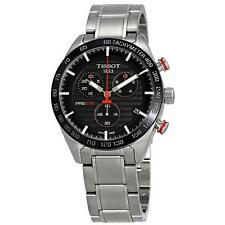 Tissot PRS 516 Chronograph Black Dial T1004171105101 Mens Steel Swiss Watch