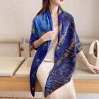 """70 Cashmere  30 Silk Wrap Scarf Van Gogh Starry Night Double Face Shawl 53"""""""