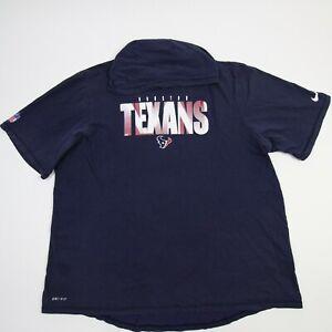 Houston Texans Nike Dri-Fit Short Sleeve Shirt Men's Navy Used