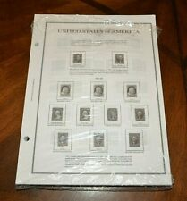 CatalinaStamps:  Unused Album Pages for H.E. Harris US Stamp ALbum, 1847-1989
