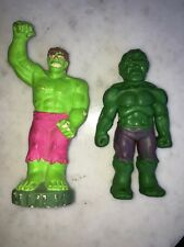 VINTAGE MARVEL COMICS INCREDIBLE HULK NOVELTY RUBBER JIGGLER 1977 1978 Model