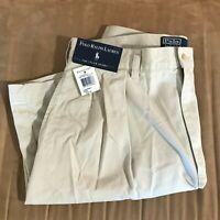 NWT Polo Ralph Lauren the Tyler Short men's size 34 light beige shorts NEW