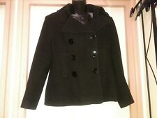 Black Wool Jacket by South Size 14 Great Condition, worn rarely