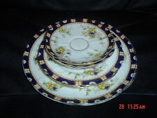 Very Pretty William Lowe Saucers Side Plates And Two Cake Plates? Circa 1901
