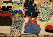 3-6  months baby boy clothing lot 34 items + 2 pairs of shoes