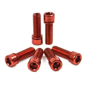 Shadow Conspiracy BMX Hollow Bolts - Red
