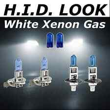 H3 H1 100w White Xenon HID Look High Low Fog Beam Headlight Bulb Pack
