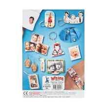 A4 x 6 SHEETS SHRINKJET PAPER PRINTER PRINT PHOTOS SHRINK ART SHRINKLES 2101