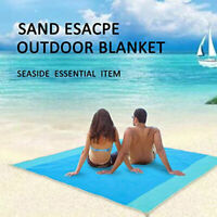 Extra Large Beach Mat Outdoor  Waterproof Picnic Blanket Anti-Sand Beach Towel