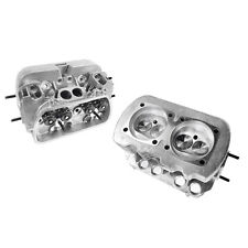 NEW PAIR VW 1600 DUAL PORT HIGH PERFORMANCE CYLINDER HEADS,  85.5 BORE