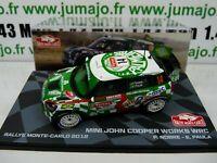 RMIT10H 1/43 IXO Rallye Monte Carlo MINI John Cooper Works WRC JCW 2012 #14 Nobr