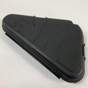"Gen X Global Small Black Hard Shell Hand Gun Case Padded Black 12"""