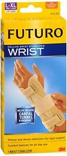 FUTURO Deluxe Wrist Stabilizer Left Hand Large-X-Large 1 Each (Pack of 2)