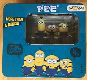 2020 EUROPEAN PEZ METAL TIN CASE MINIONS