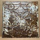 "1pc 23"" x 23"" Piece Antique Ceiling Tin Vintage Reclaimed Salvage Art Craft"