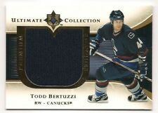 Todd Bertuzzi 05-06 Upper Deck Ultimate Premium Swatches Game Jersey /75