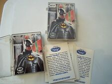 100 CARD LOT 1992 TOPPS STADIUM CLUB BATMAN RETURNS PROMO UNNUMBERED NRMT-MT