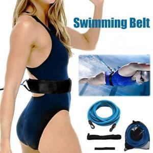 Swimming Resistance Belt Set Swim Training Band Swim Elastic Exerciser Belt