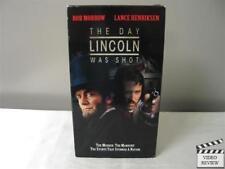 Day Lincoln Was Shot VHS 1998 Lance Henriksen Rob Morrow TNT Orginial