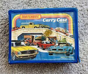 1978 48 Car Matchbox Car Case w/ Trays