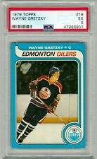 1979-80 TOPPS  NO. 18 WAYNE GRETZKY ROOKIE  PSA 5  EX  BEAUTY!!
