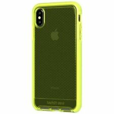 Tech21 iPhone XS Max Evo Check Drop Protection Case Neon Yellow T21-6143