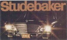 Studebaker Avanti Hawk Cruiser Lark Daytona 1964 Original Usa Folleto Desplegable