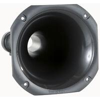 """NEW 6.1 x 6.1 inch Tweeter Horn Throat.Threaded.Speaker Lens.1"""".PA for 1-3/8.CS"""