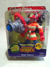 Rescue Heroes Night Squad Wendy Waters Firefighter Factory Sealed!