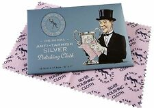 Town Talk Original Anti-tarnish Silver Polishing Cloth 1 Small 12cm X 17cm