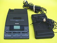 PHILIPS LFH 720 Minicassette Transcriber ac, foot pedal, headset WARRANTY