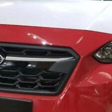 For Subaru XV Crosstrek 2018 2019 Hatchback Front Grilles Grill Cover Trim Strip