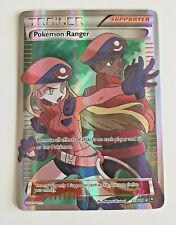 Pokemon Card Pokemon Ranger 113/114 Steam Siege Full Art Ultra Rare