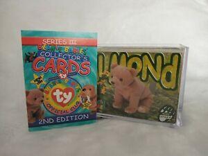Ty Beanie Babies series 3 trading cards base 58 - 157 plus sticker set x21