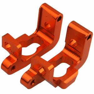 R/C Metal Orange 101209 Hub Carrier(L/R) For HPI Nitro 1/10 Bullet 3.0 ST/MT