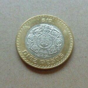 MEXICO 2018 10 Pesos bi-metal coin  Mayan Calendar