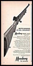1965 MOSSBERG Model 144LS .22 Rifle PRINT AD