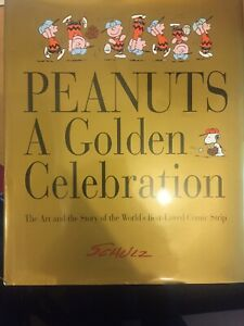 Peanuts A Golden Celebration Large Hardback Book by Charles Schulz 1999 -23