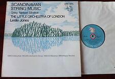 SCANDINAVIAN STRING MUSIC LP JONES UNICORN UNS 201 EX++ (1969) GRIEG SIBELIUS