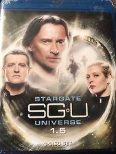 2010 Stargate Universe SGU Season 1.5 (3 disc set Blu Ray) NEW