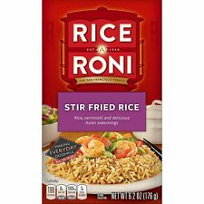New listing Rice A Roni Stir Fried Rice with Asian Seasoning Flavor 6.2 oz (8-pack)