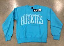 Gear For Sports UCONN Huskies Long Sleeve Crew Sweatshirt Sky Blue WMN'S SZ XS